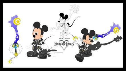BBS King mickey Color by GunZcon