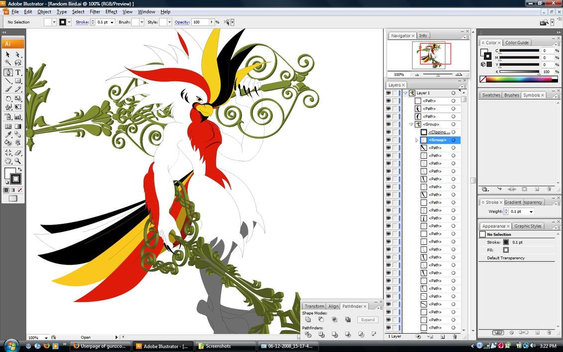 Как создать картинку в иллюстраторе