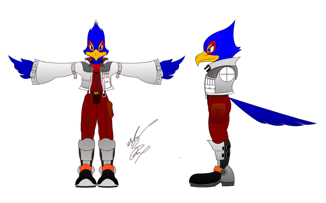 SSBB Falco Lombardi Color by GunZcon