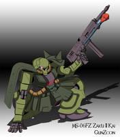 MS-06FZ Zaku II Kai by GunZcon