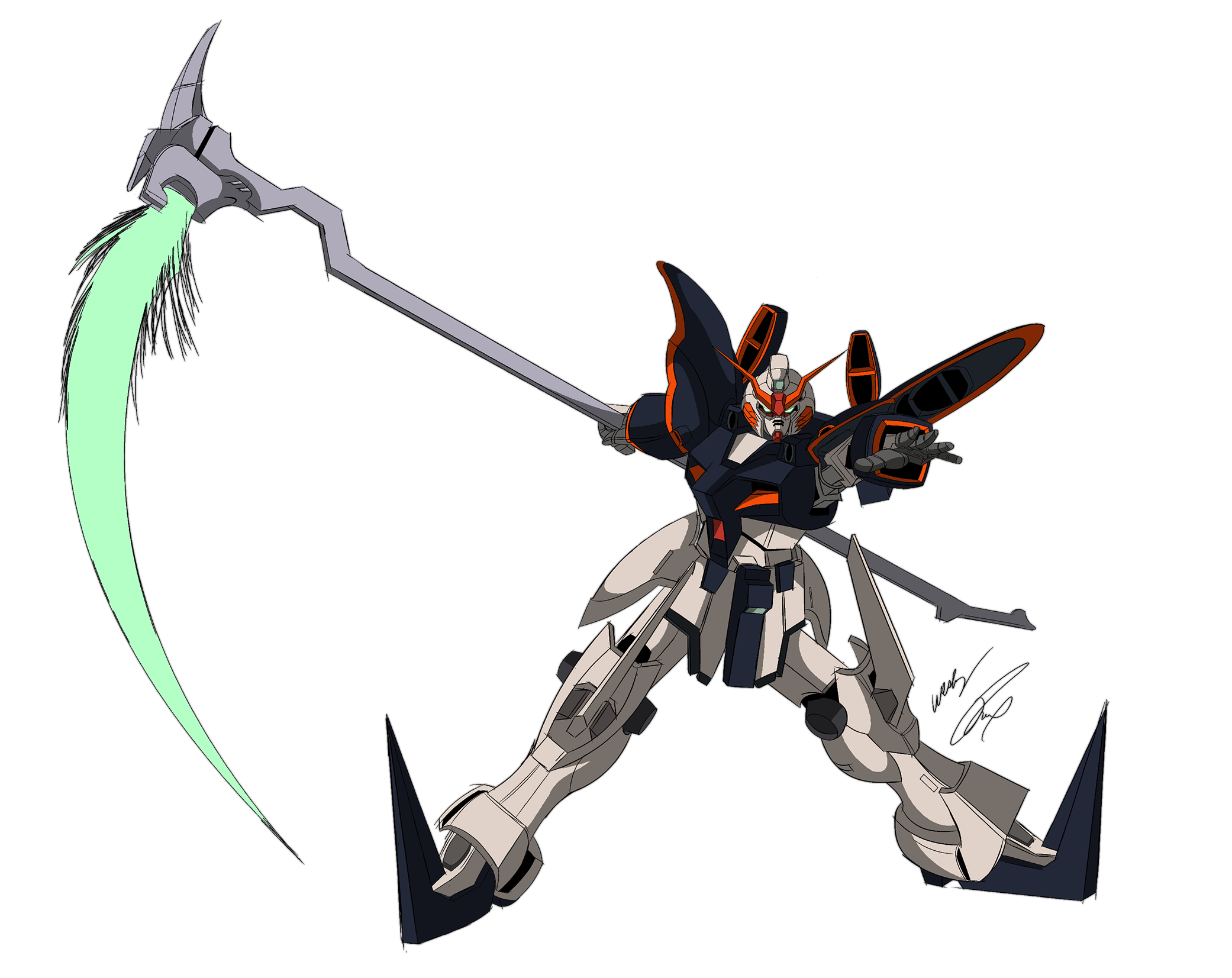 Gundam Deathscythe Color by GunZcon