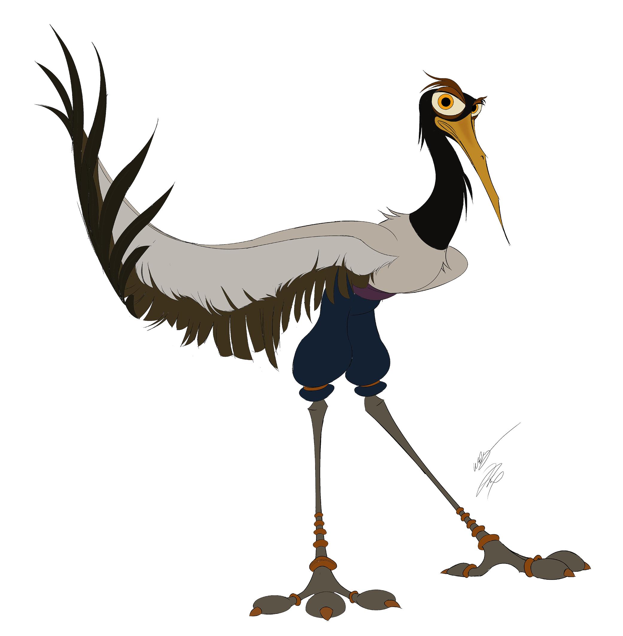 crane kung fu style
