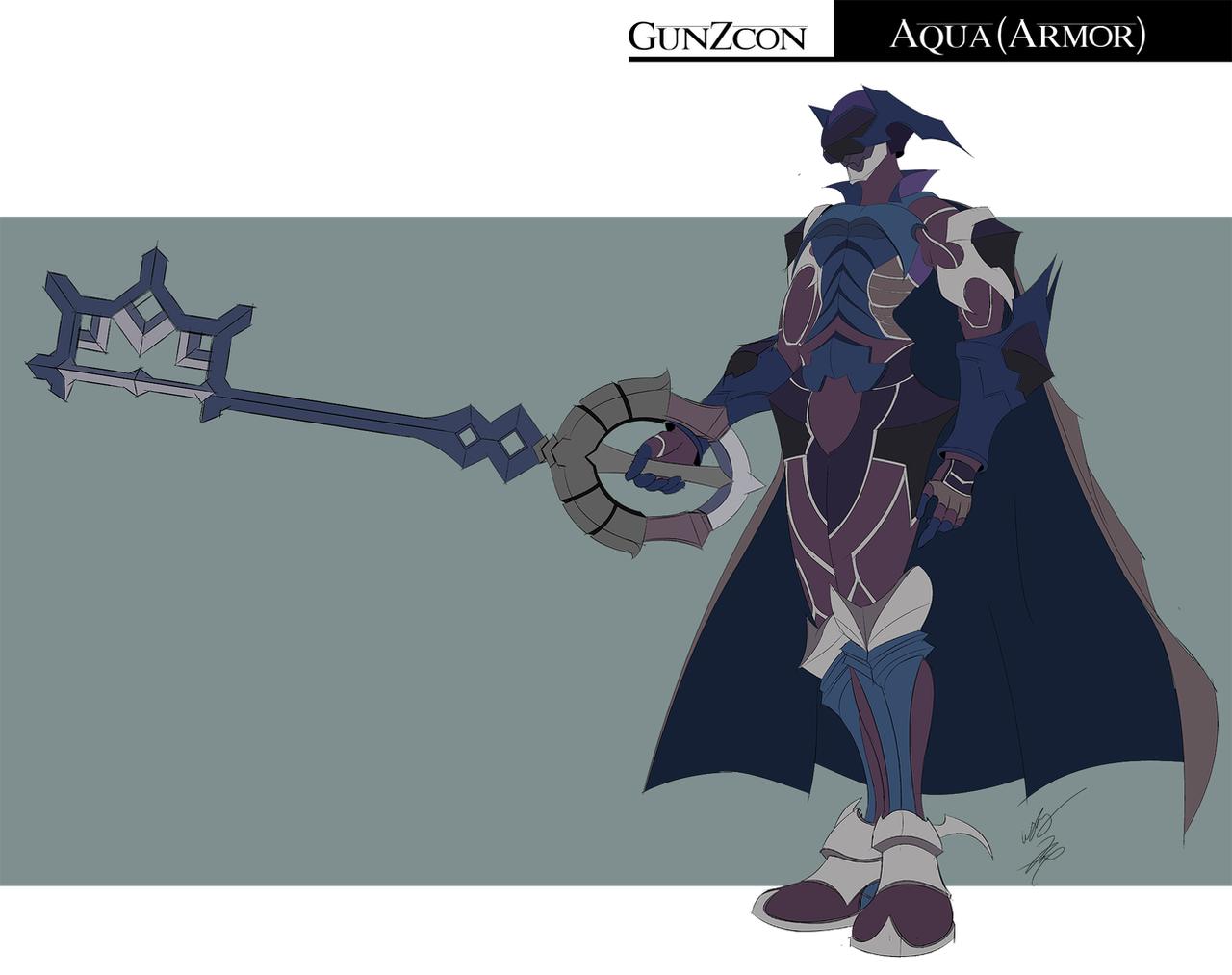 Aqua Armor by GunZcon on DeviantArt  Aqua Armor by G...