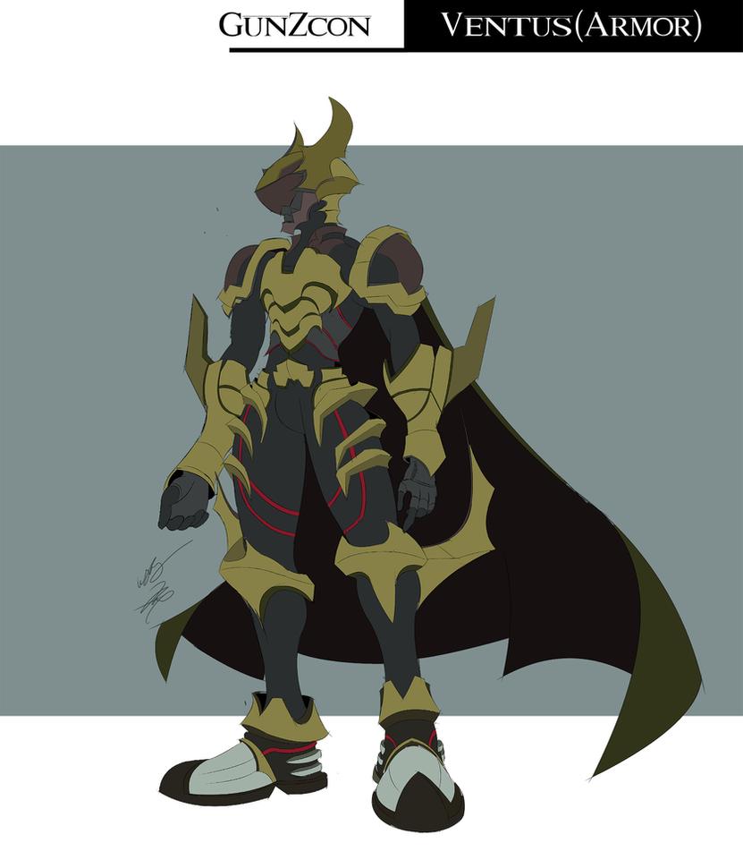 ventus armor by gunzcon on deviantart
