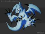 Blue Eyes Toon Dragon Dark Ver