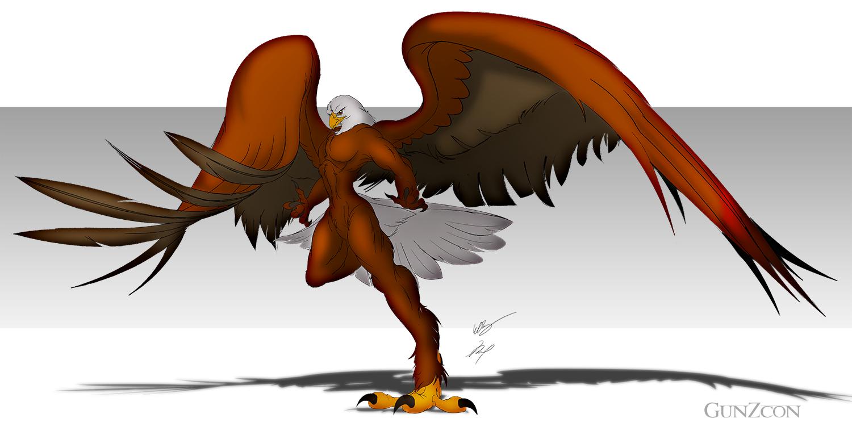 Bald Eagle Naked 96