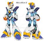 Mega Man X Armour Ver KE.