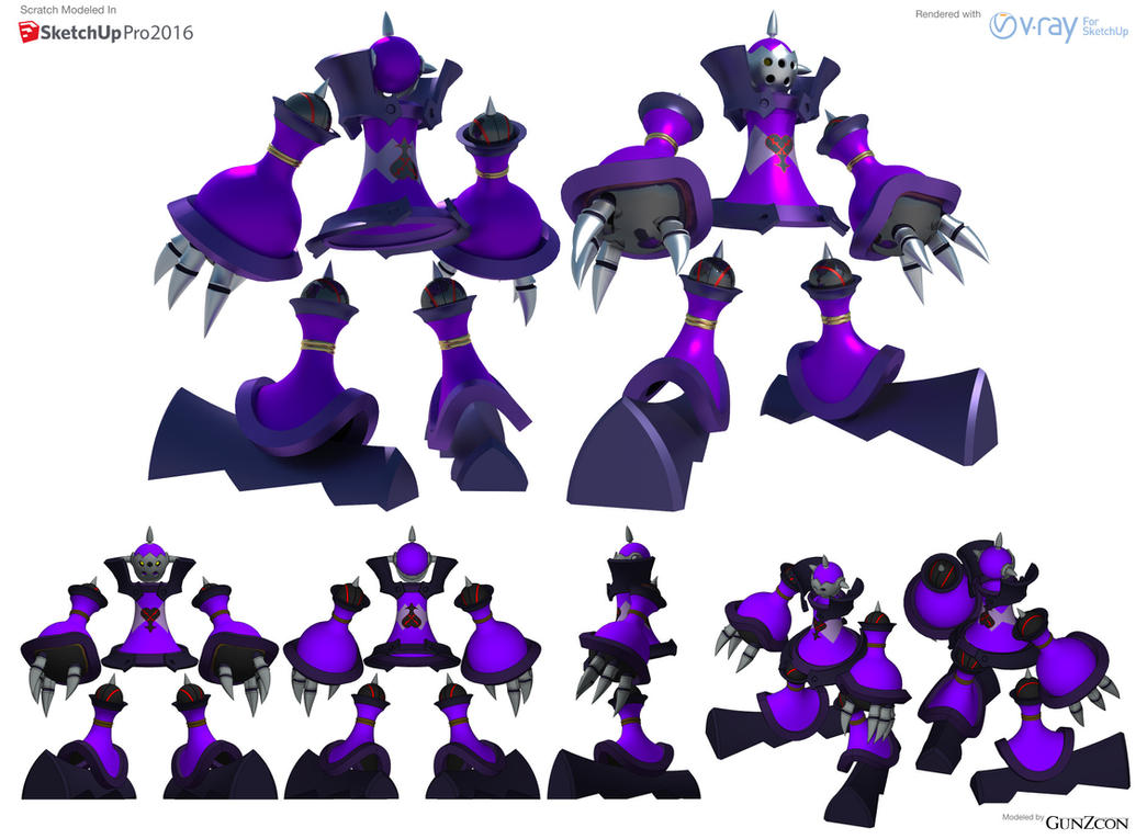 Guard Armor Heartless (Revised) Refsheet by GunZcon