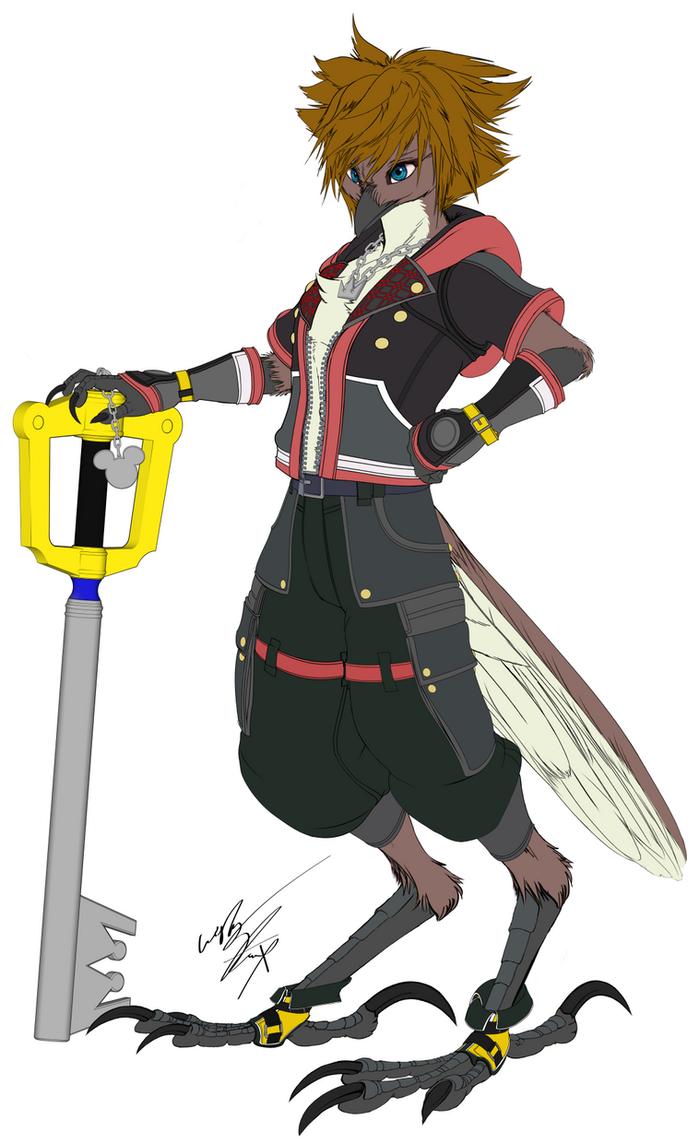 KH3 Sora Sky Concept by GunZcon