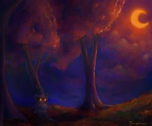 In the shadows by Zamietka