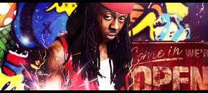 Lil Wayne Signage V3