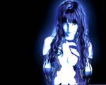 Susan Coffey as Cortana