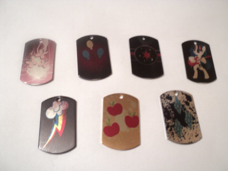 Dog Tags by TotoroXVI