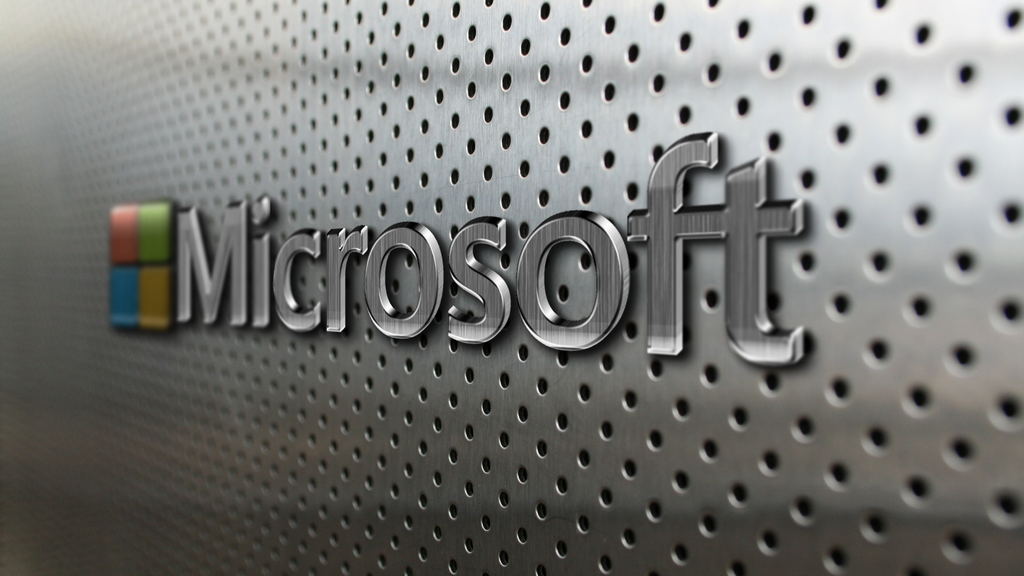 microsoft metal points holes silver background by beman36