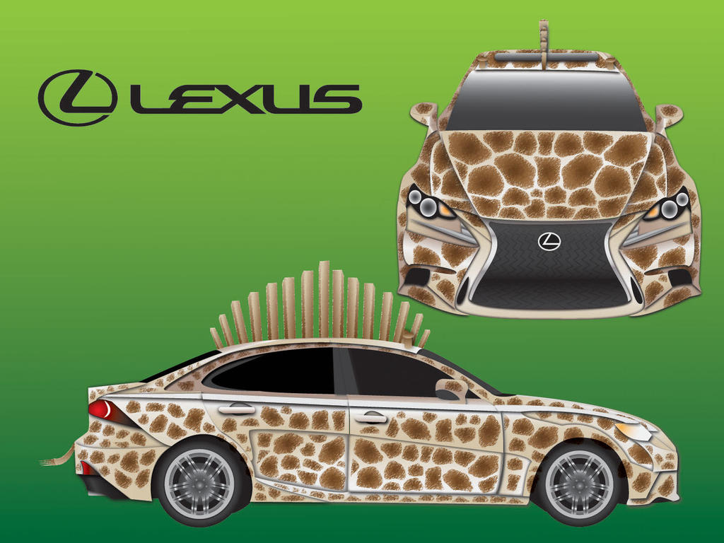 Lexus IS by gohan18