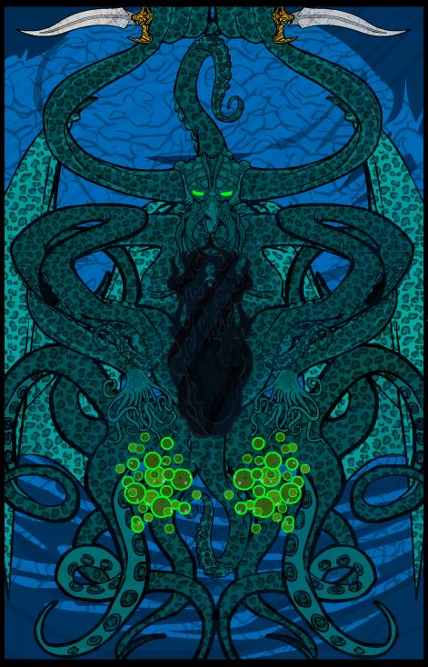Kraken Cthulhu by VonMalcolm