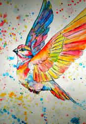 Bird by SpaceSheep-Art