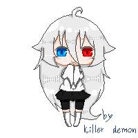 Ellen [ pixel] by TheKillerDemon