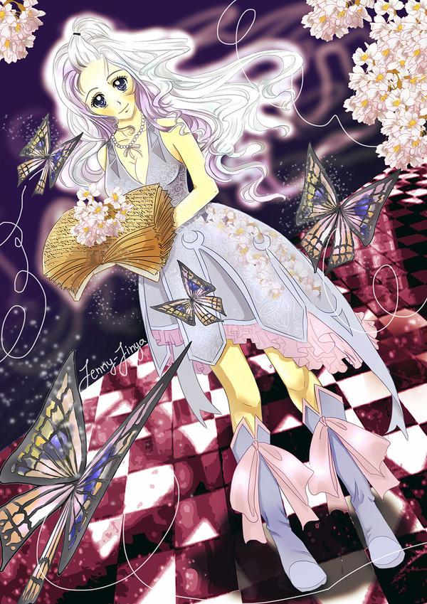 Fairytail Mirajane Strauss by JennyJinya