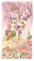 Sweet Lolita Illustration by JennyJinya