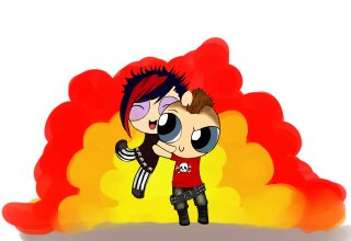 bang me and my punk by Sangoart