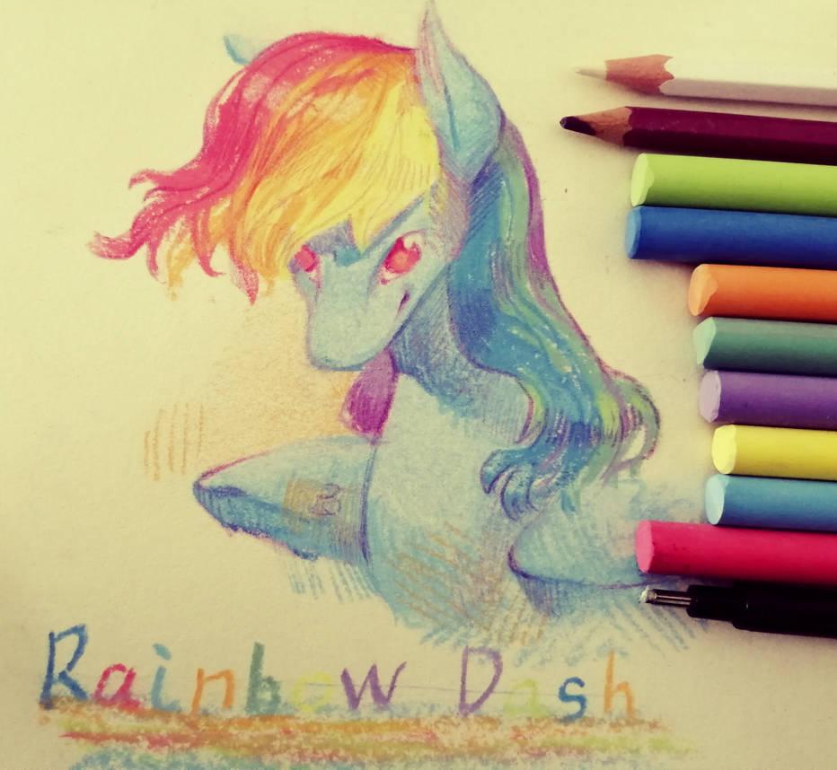 Rainbow Dash by AngusDra