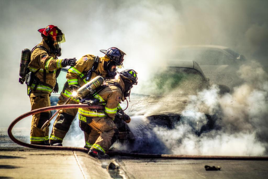 Fire Men by BigRedCurlyGuy