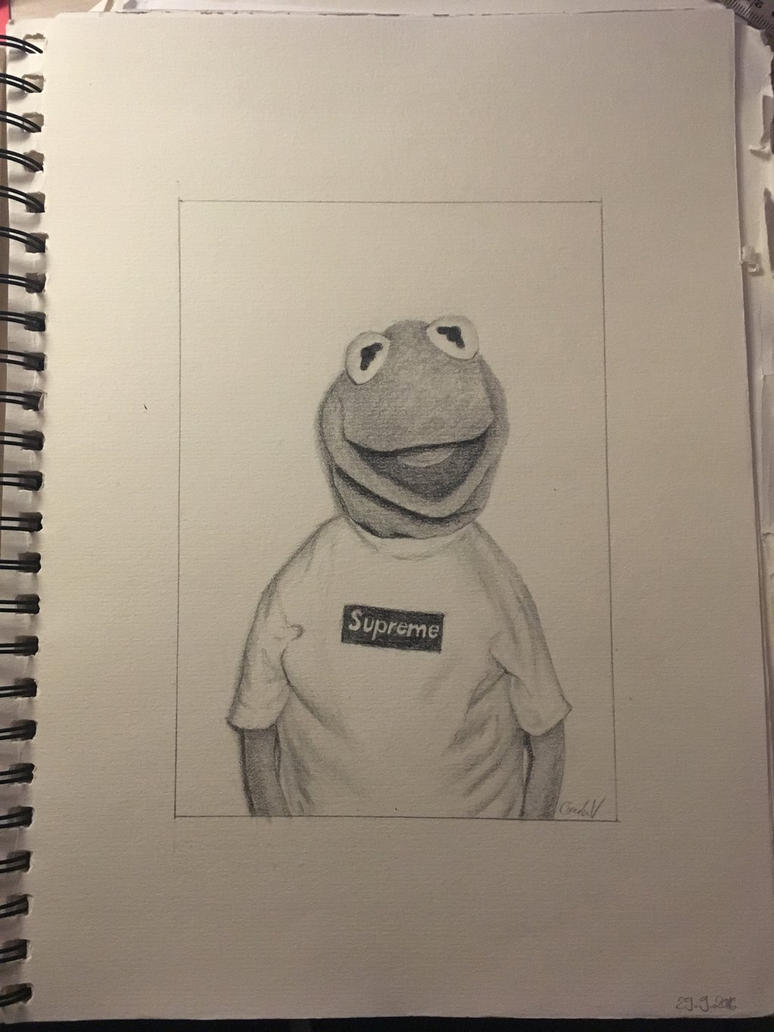 Supreme Kermit The Frog By Gamingchanneleurope