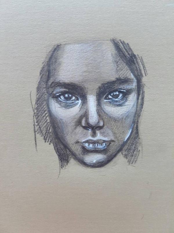 portrait practice 2 by leejx1995