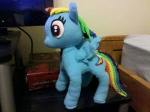Rainbow Dash plushie 11.5 inches tall