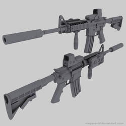 M4 Carbine by MeganeRid