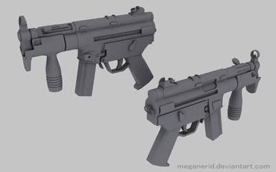 HK MP5 K by MeganeRid