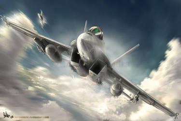 Super Hornet by MeganeRid