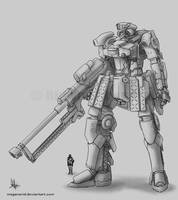 Mecha - MAWS System by MeganeRid