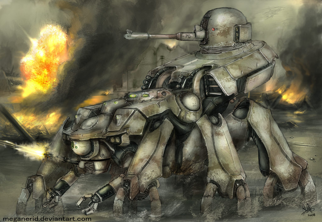 Dawn of Demise (DODM) Image Search Thread Spider_Tank_by_MeganeRid