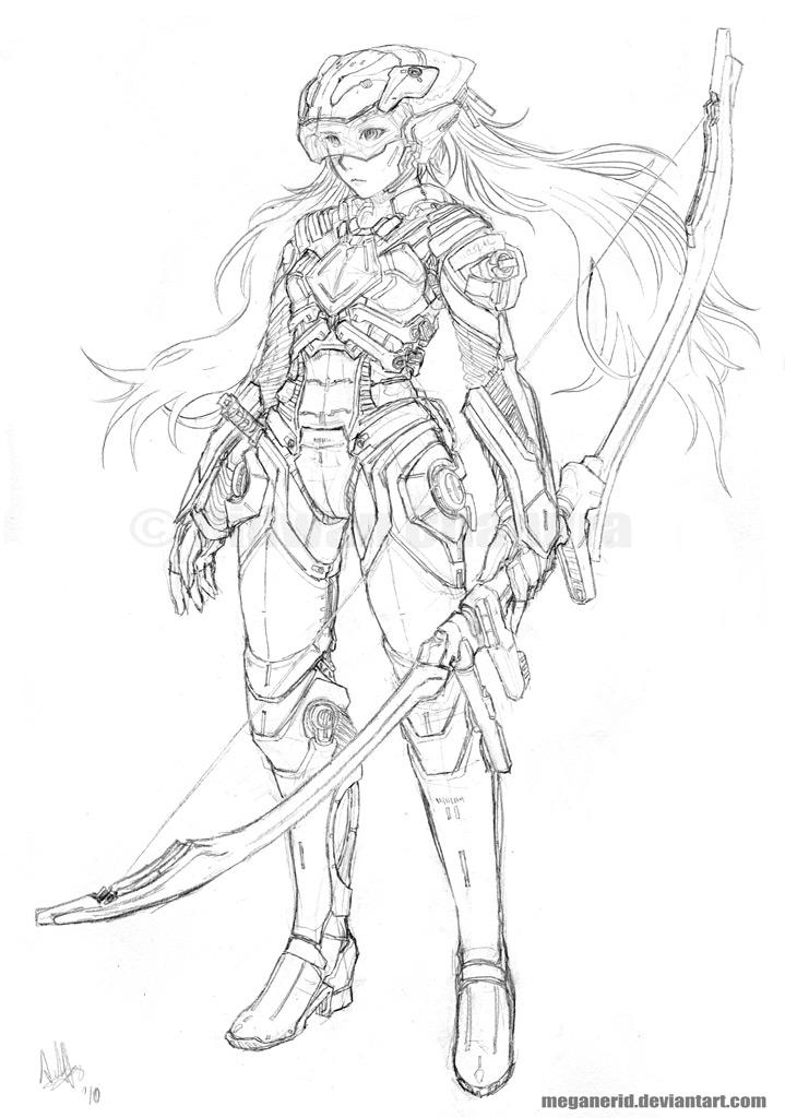 Commission - Reisa by MeganeRid