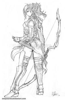 Elven Ranger Aniera