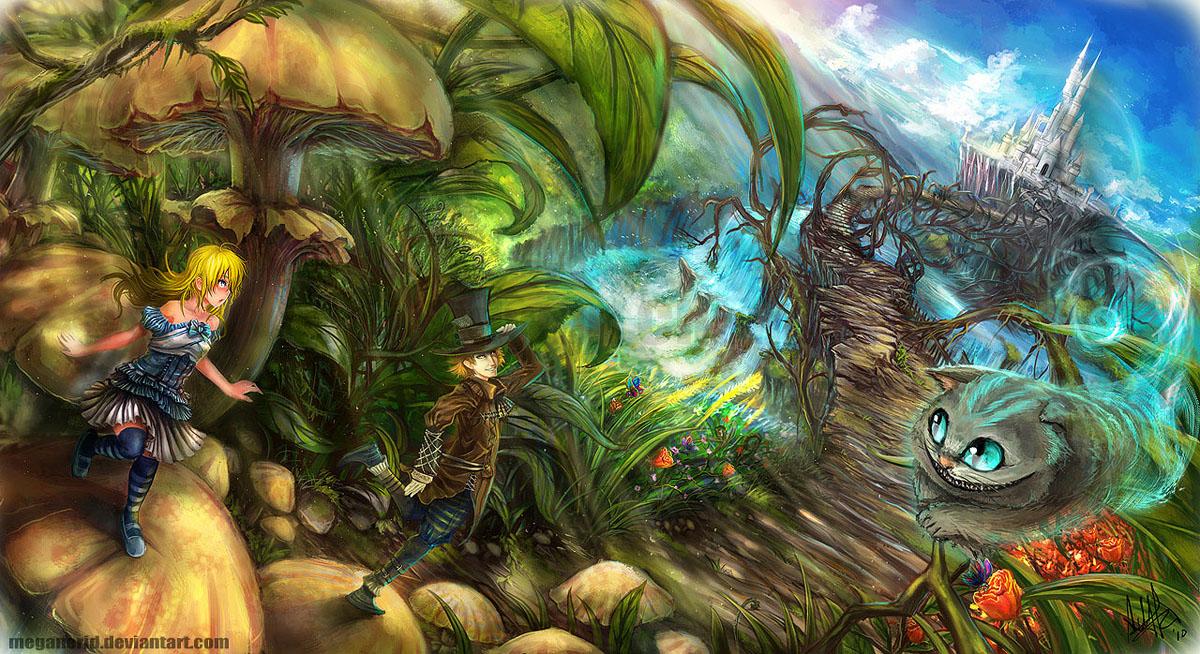 Alice in Wonderland by MeganeRid