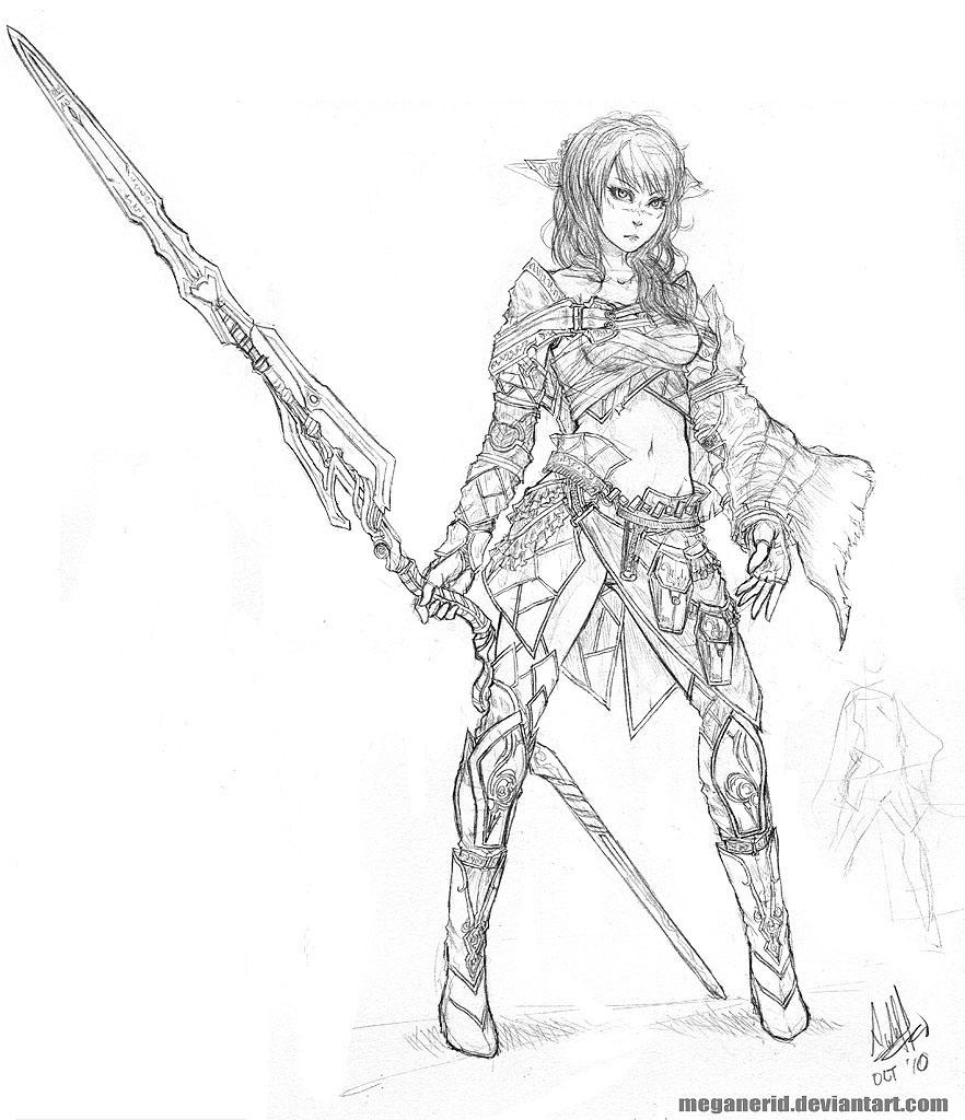 Battle Mage Ellie