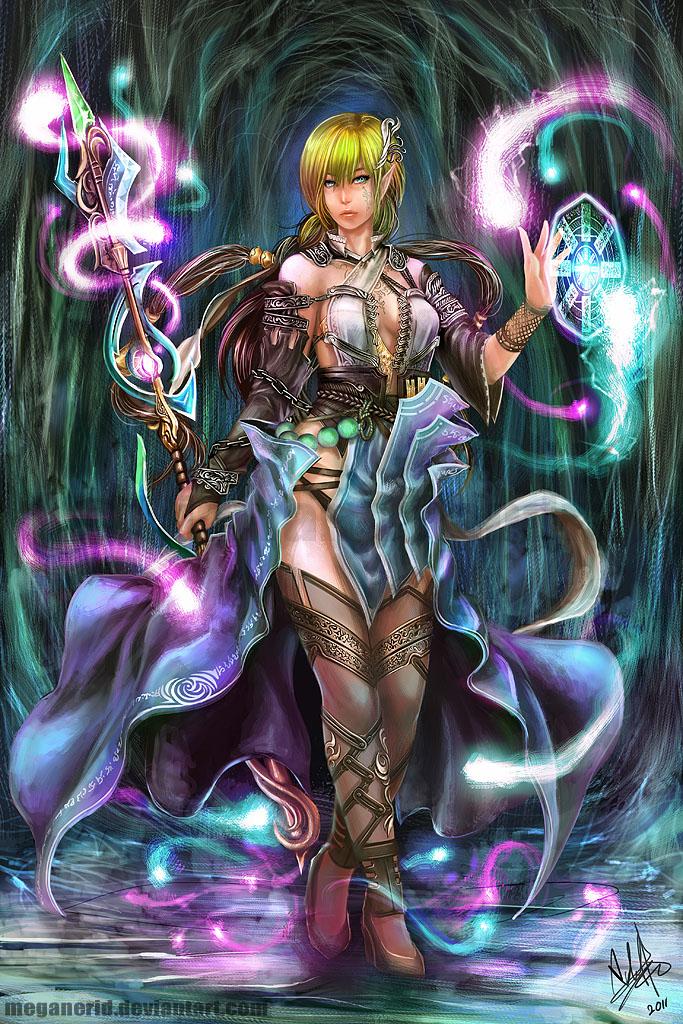 Spirit Mage Evelyn