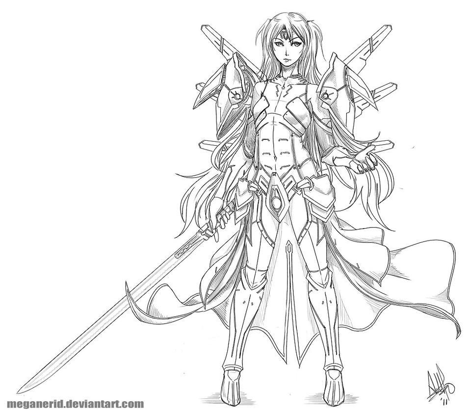 commission - Reisa III by MeganeRid