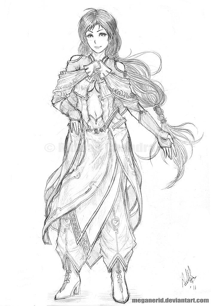 Haruna by MeganeRid