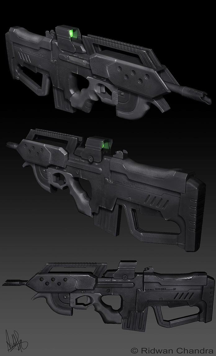 SK-71 Rifle by MeganeRid