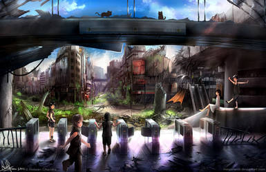 Playground II by MeganeRid