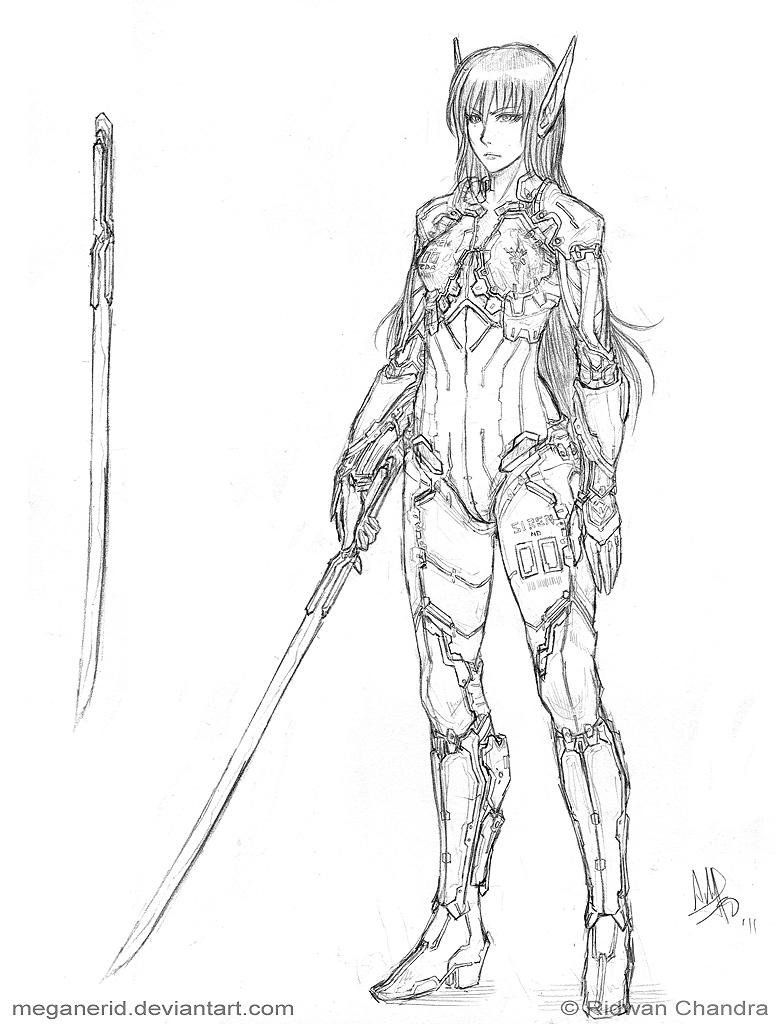 Commission - Zaeda by MeganeRid