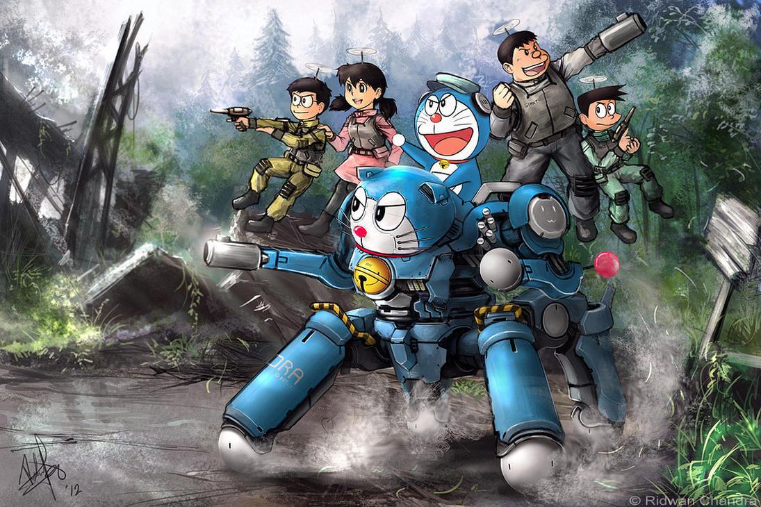 Dorabot Attack by MeganeRid