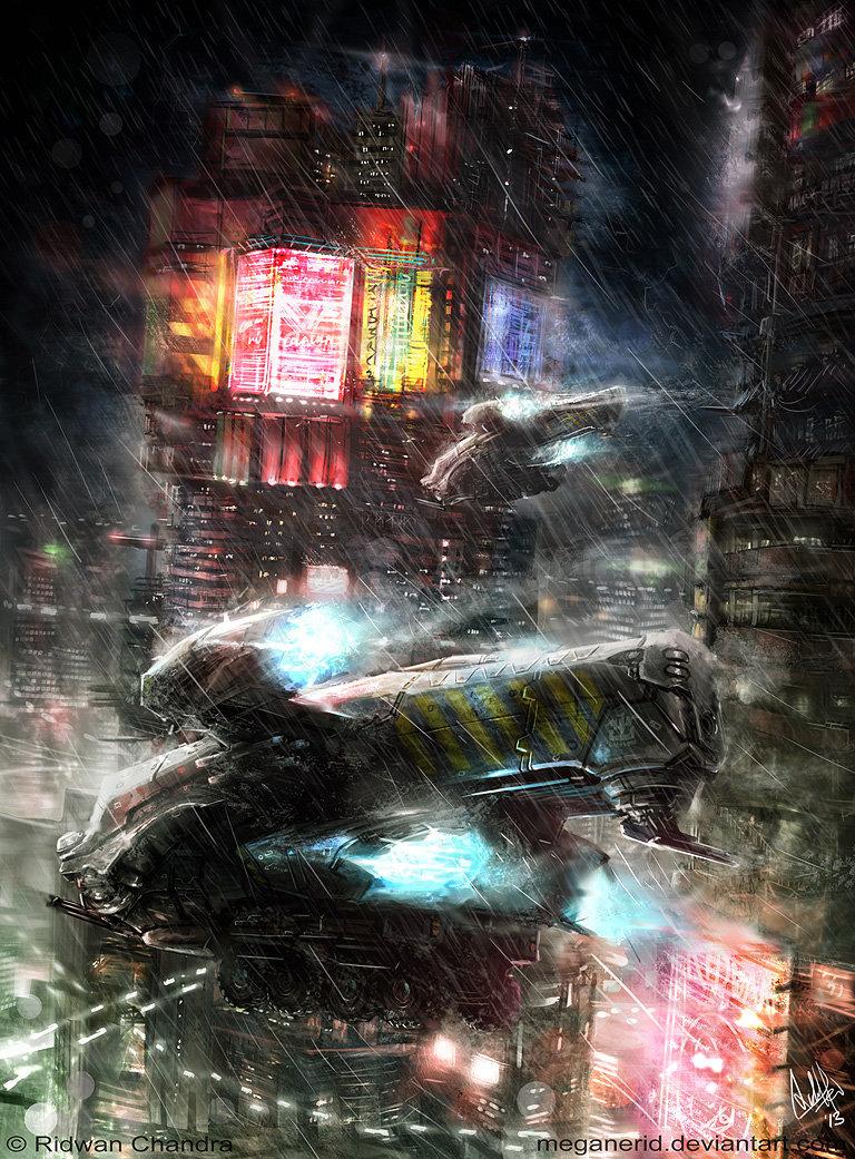 Night Rain by MeganeRid