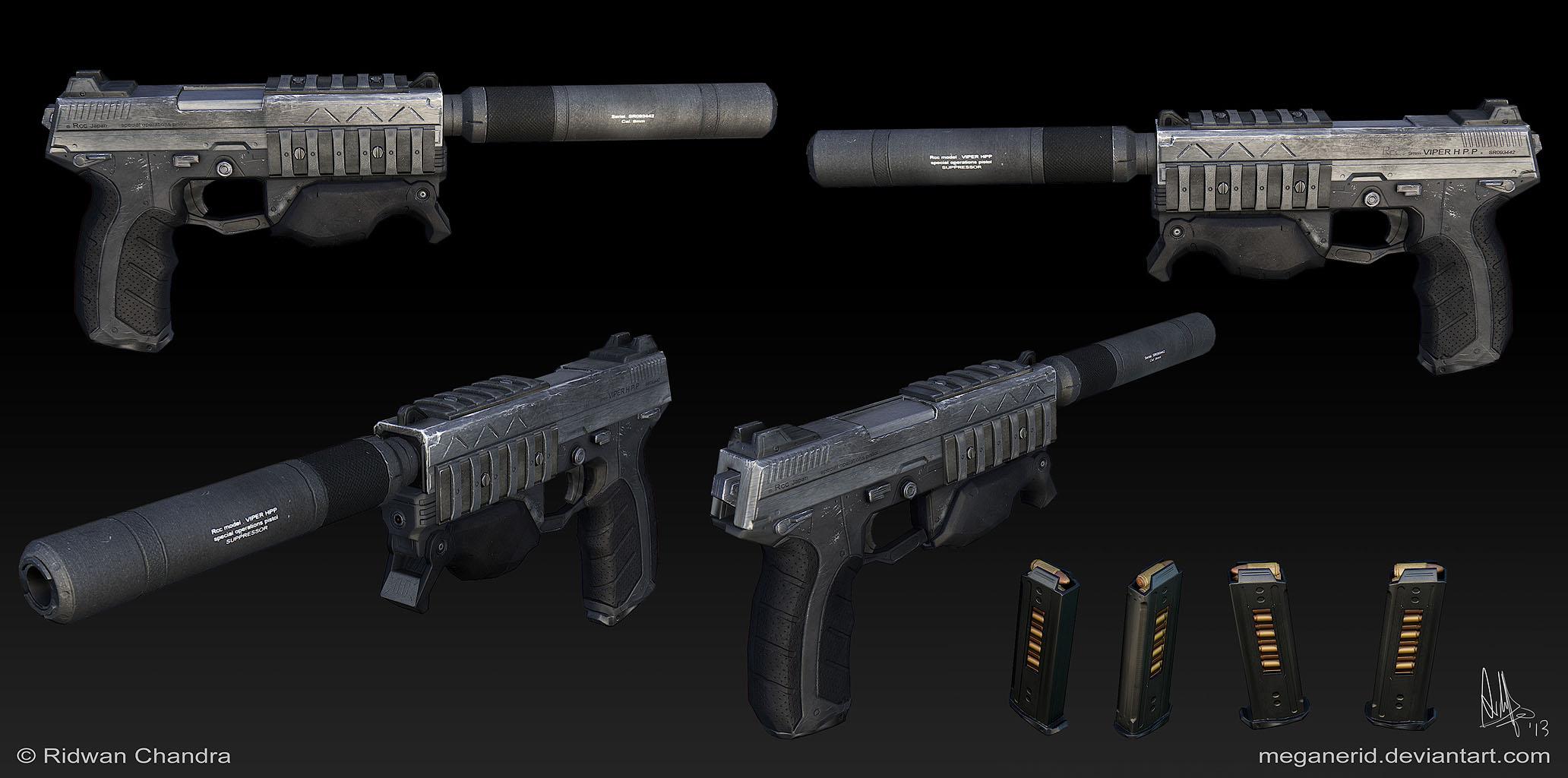 Spec Ops Gun by MeganeRid