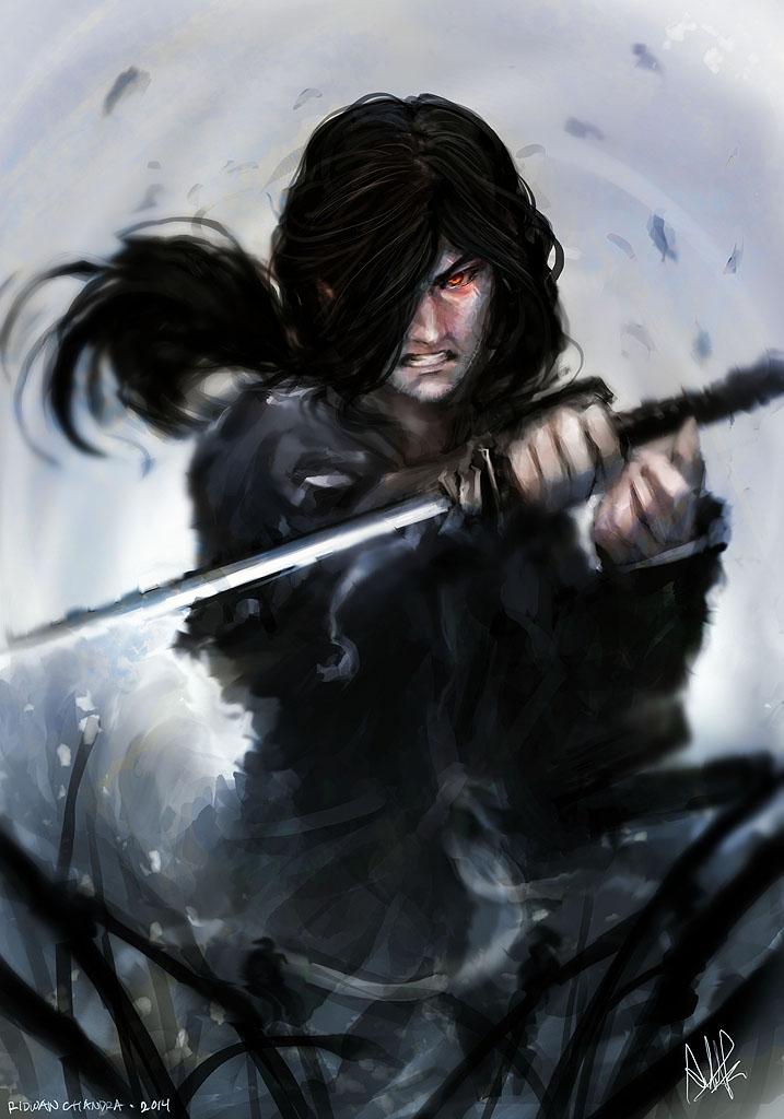 Samurai guy by MeganeRid on DeviantArt