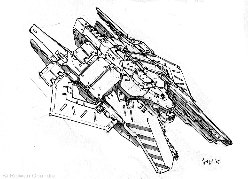 Space Fighter 2 by MeganeRid